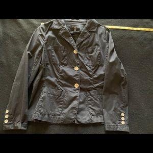 Talbots lightweight stretch black blazer 10p